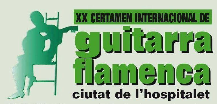"""XX Certamen Internacional de Guitarra Flamenca """"Ciutat de L'Hospitalet"""""""
