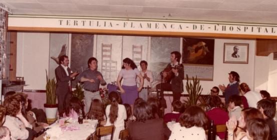 Historia de la Tertulia Flamenca de LH