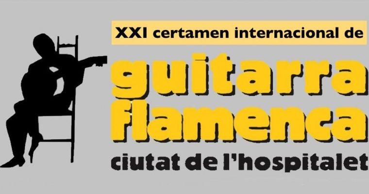 """XXI CERTAMEN INTERNACIONAL DE GUITARRA FLAMENCA """"ciutat de l'hospitalet"""